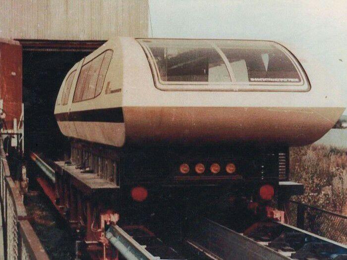 Нереализованный проект магнитной железной дороги. /Фото: topast.ru