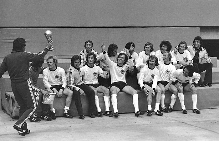 Сборная ФРГ по футболу 1974 года. /Фото: ua.tribuna.com