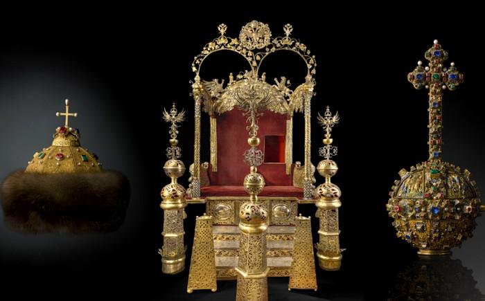 Фото из альбома «Государственные регалии московского царства», Музеи Московского Кремля.