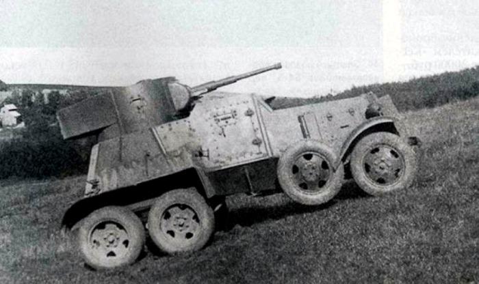 Средний бронеавтомобиль БА-6. /Фото: armedman.ru