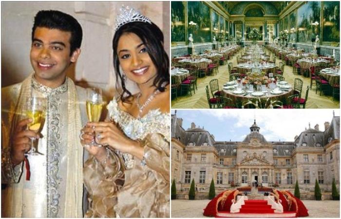 Шикарная индийская свадьба. /Фото: rediff.com, uznayvse.ru