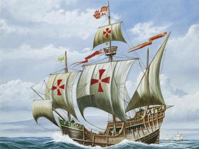 Санта-Мария Христофора Колумба. /Фото: on-planet.ru
