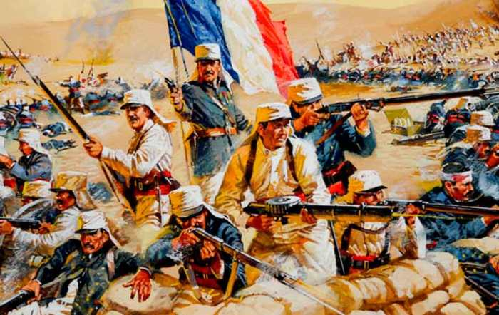 Французы от усталости спасались морфием. /Фото: armflot.ru