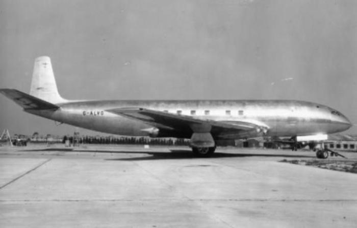 Британский лайнер Comet первого поколения /Фото: indicator.ru