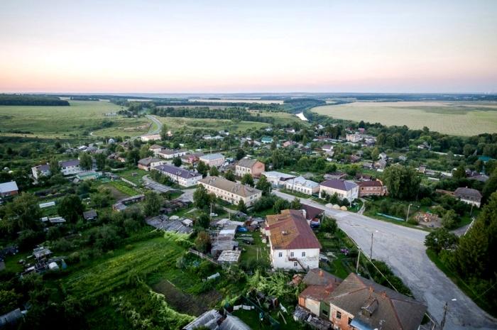 Маленький город, которого скоро может не стать. /Фото: tulapressa.ru