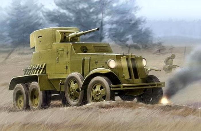 Укороченная советская бронемашина. /Фото: drive2.ru