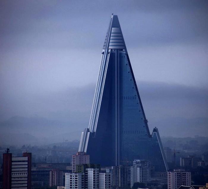 Символ неосуществленной мечты северокорейского правительства. /Фото: yaplakal.com