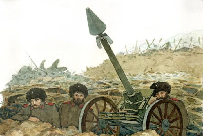 Миномет Гобято - легенда русско-японской войны. /Фото: yaplakal.com