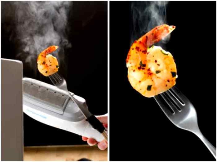 Что только не идет в ход, чтобы над едой в рекламе поднимался красивый пар. /Фото: publish.com.ua