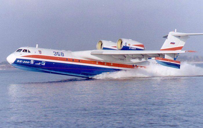 Бе-200 - уменьшенная реплика «Альбатроса». /Фото: veteranos.gr