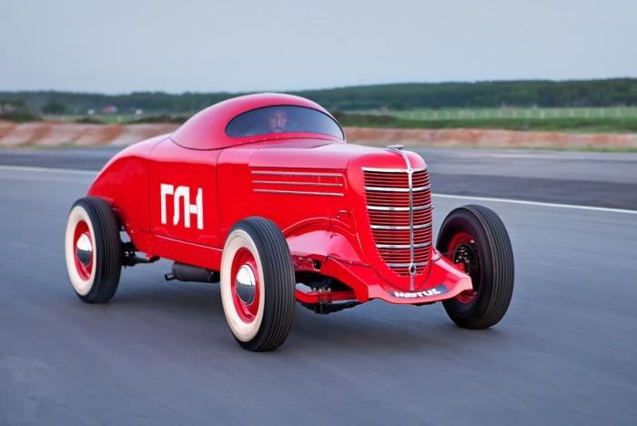 Едва ли не самый первый советский спорткар. /Фото: all-oldtimers.com