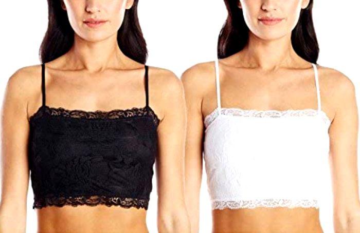 Отличная альтернатива кружевной блузке под жакет. /Фото: flipboard.com