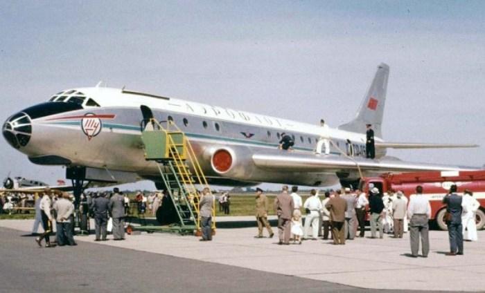 Советский лайнер на зарубежной выставке. /Фото: airwar.ru