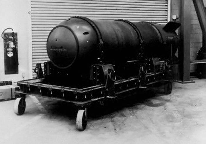 Водородная бомба, утерянная больше 60 лет назад. /Фото: lenta.ru