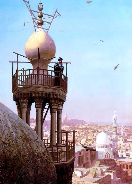 В мусульманской традиции обозначать людям время поручалось человеку. /Фото: wikipedia.org