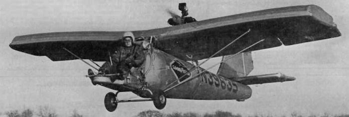 Один из самых нетривиальных самолетов в истории авиации. /Фото: mainfun.ru