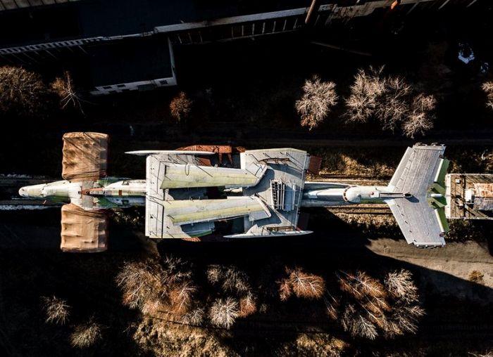 Вид на экраноплан сверху. /Фото: blockdit.com