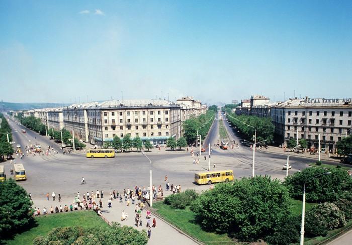 Социалистический город Магнитогорска. /Фото: rbth.com