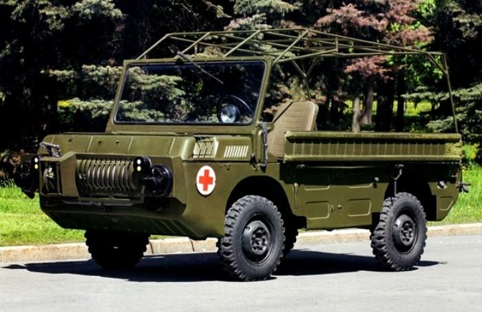 Внешний вид ЛуАЗ-967 серийного производства. /Фото: hsmedia.ru