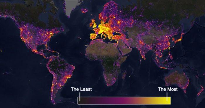 Европа и Япония - самые фотографируемые места на планете. /Фото: obozrevatel.com