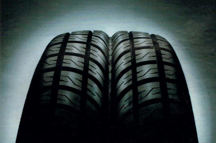 Так выглядит шина модели Goodyear Aquatred. /Фото: motor.ru
