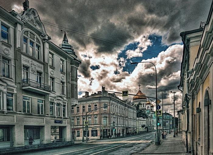 Улица, которая в названии хранит упоминания дворян и...кабака. /Фото: rasfokus.ru