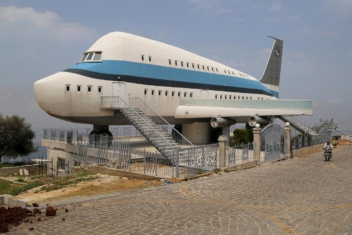 Самолет, в котором не летят, но живут. /Фото: storebe.ru