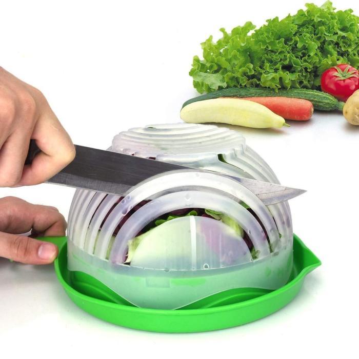 Инновационный способ нарезки салата. /Фото: trendsforce.com