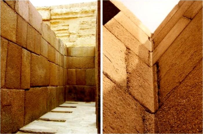 Как камни могли согнуть в Древнем Египте, неясно до сих пор. /Фото: livejournal.com
