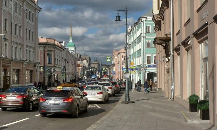 Московская улица в честь важного религиозного праздника. /Фото: wikimapia.org