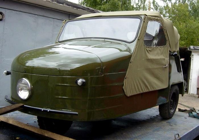 Мотоколяска полностью оправдывает свое народное прозвище. /Фото: novikovgarage.com