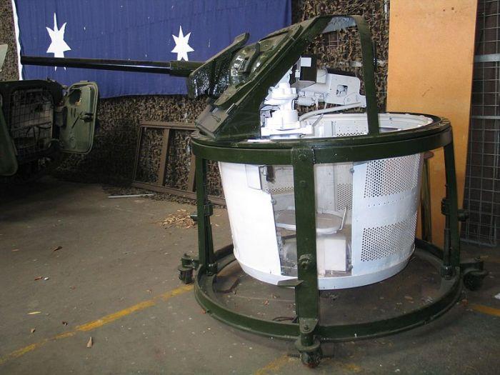 Основная пушка танка М3. /Фото: Wikipedia.org