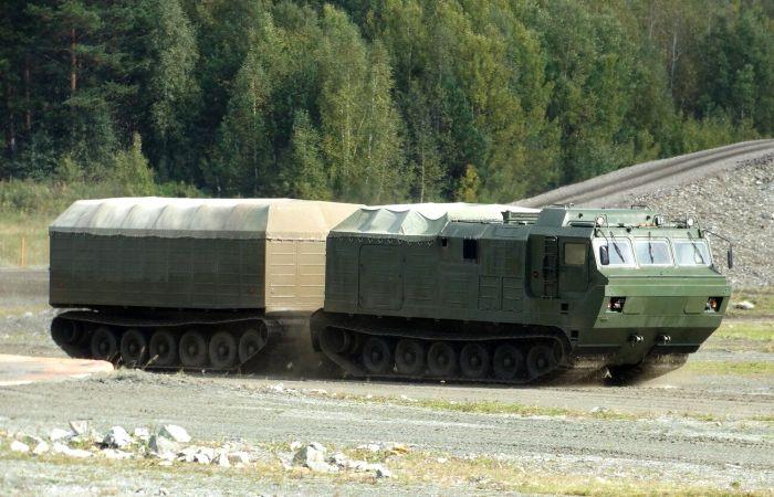 Пока сочлененная конструкция применялась только в других типах военной техники. /Фото: pinterest.ru