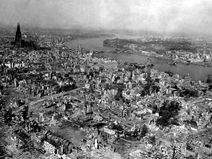 Разрушения Дрездена были катастрофическими. /Фото: wwii.space
