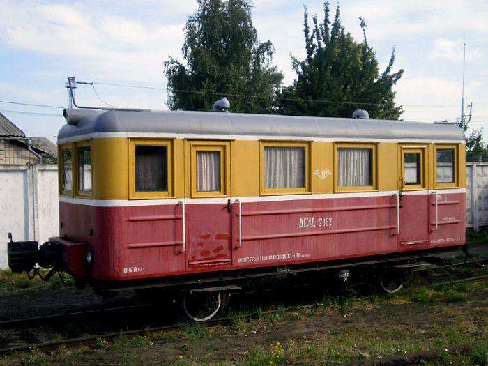 Служебная автомотриса советского образца. /Фото: wikipedia.org