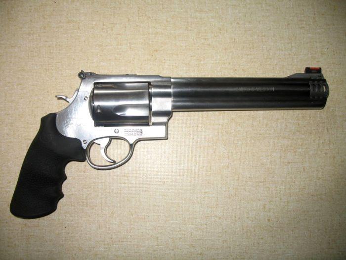 Один из самых знаменитых револьверов. /Фото: wikipedia.org