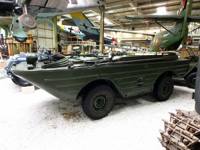 Даже попытка приспособить амфибию инженерных войск ГАЗ-46 ни к чему не привела. /Фото: carakoom.com