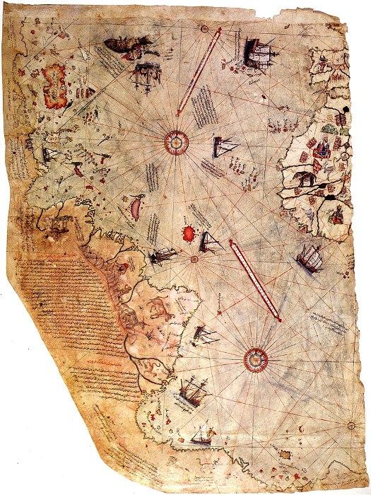 Поразительная в своей точности карта. /Фото: wikipedia.org