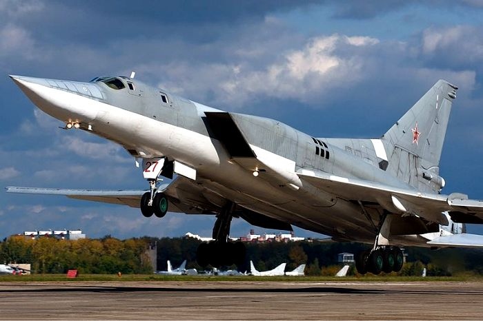 Одна из последних модификаций Ту-22М3. /Фото: wikipedia.org