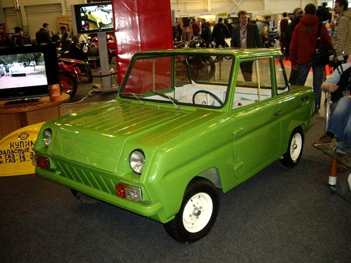 Машину максимально приспособили к особым потребностям их владельцев. /Фото: wikipedia.org