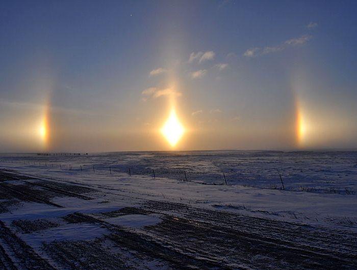 Паргелий в Южной Дакоте. /Фото: mydiscoveries.ru