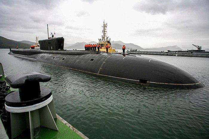 Атомная подводная лодка «Александр Невский». /Фото: wikipedia.org