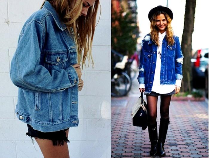 Много лет джинсовая куртка удерживается в трендах. /Фото: livejournal.com