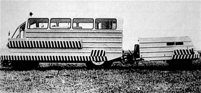ЗИЛ САК образца 1968 года, вид слева. /Фото: livejournal.com