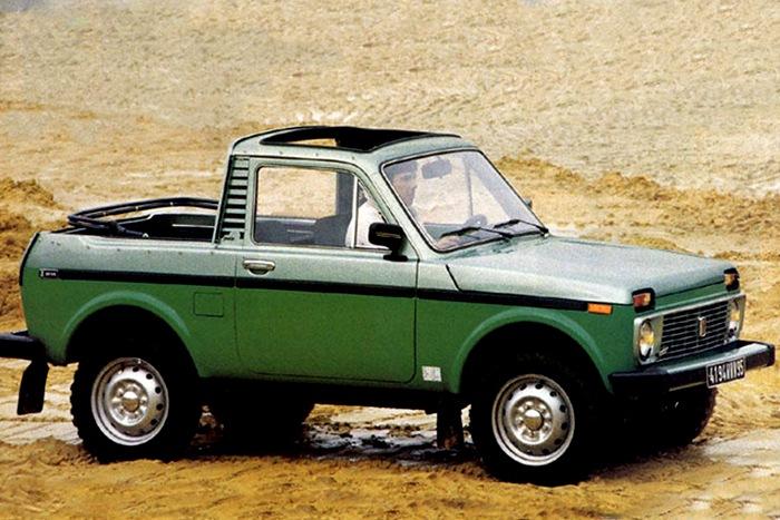 Редкая модель Нивы для иностранного потребителя. /Фото: amsrus.ru