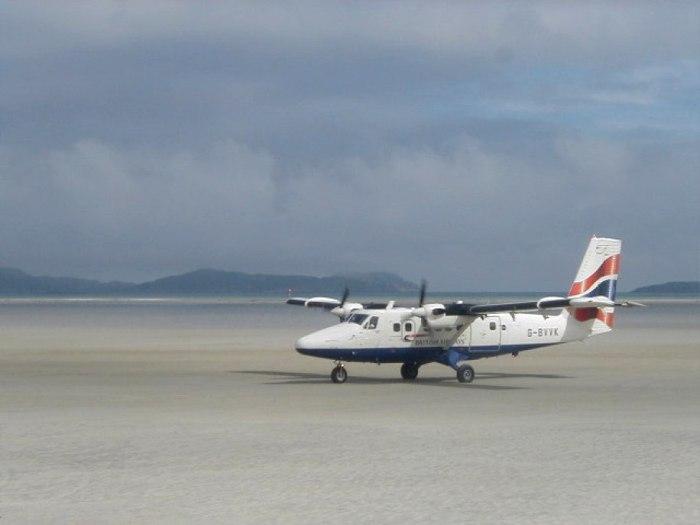 Наполовину аэропорт, наполовину - пляж. /Фото: airwhizz.com