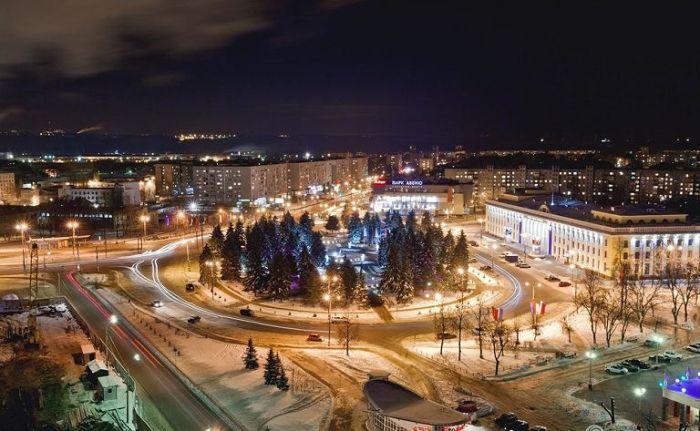 Панорама архитектуры соцгорода в Нижнем Новгороде, современный вид. /Фото: russiaguides.ru