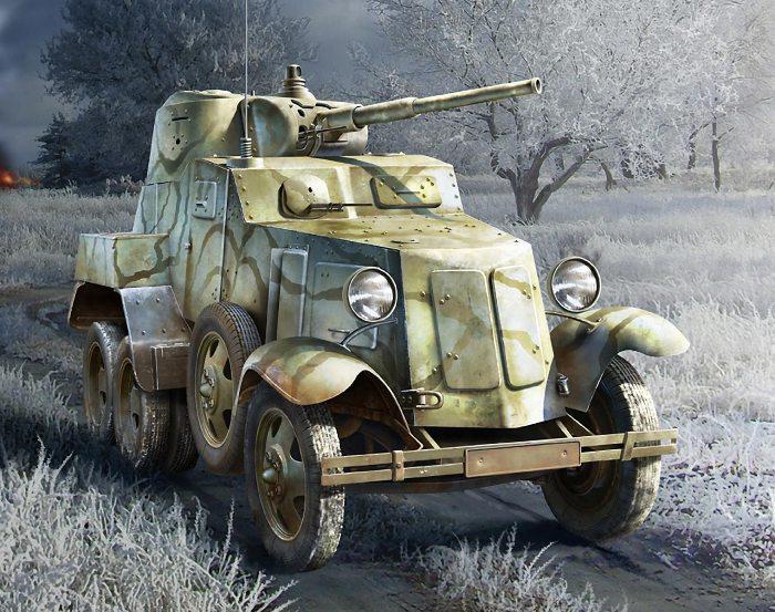 Самый массовый пушечный бронеавтомобиль. /Фото: militaryarms.ru