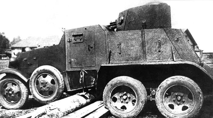 Опытный образец БА-И во время испытаний на полигоне в Кубинке летом 1932 года. /Фото: tanks-encyclopedia.com