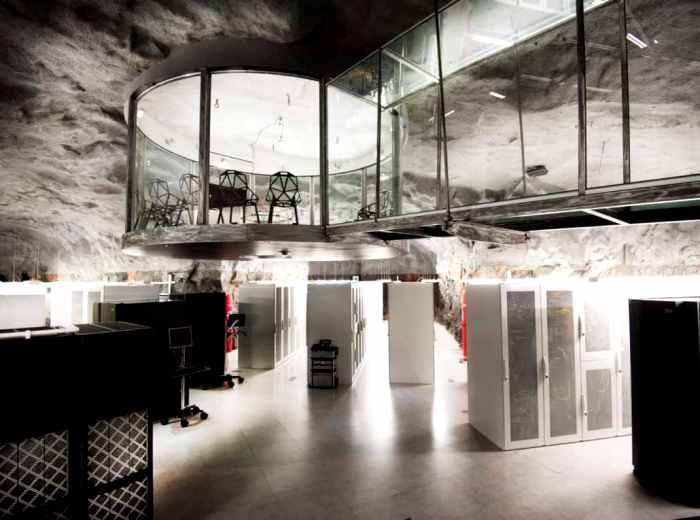 Сервера, которые переживут даже ядерную войну. /Фото: kundnyheter.ellevio.se